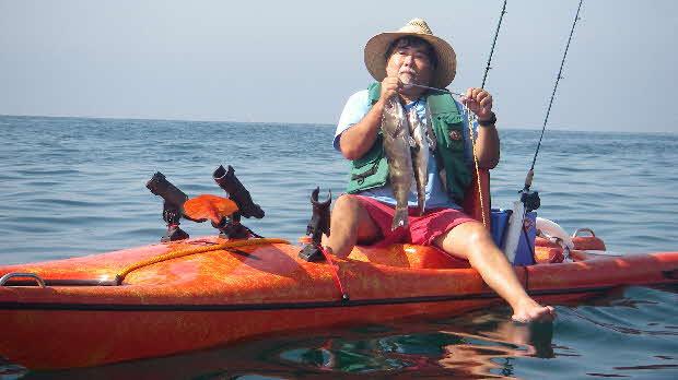 Customer fishing